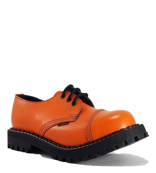Steel Schuhe 3 Loch Orange