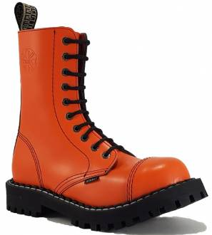 Steel Stiefel 10 Loch Orange