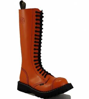 Steel Stiefel 20 Loch Orange
